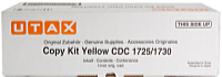 Utax - Printer Laser Toner - Utax CDC1725 12k toner, Yellow
